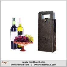 2 Bottles Leather Wine Carrier Wholesale