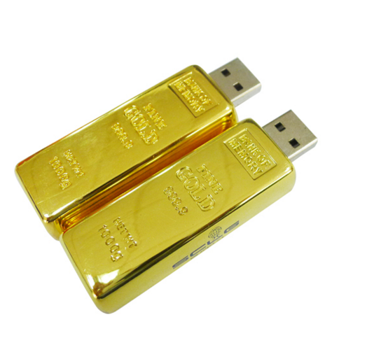 fast delivery high quality 16GB usb 2.0 flash drive gold high quality usb thumb drives