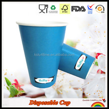 12oz Double PE Soft Drink Paper Cold Soda Cup