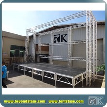 Plywood Platform aluminum stage for party for wedding