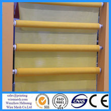 BEST 100 polyester mesh fabric for t shirts/polyester screen printing mesh;polyester mono silk wire mesh screen Wenzhou Hehuang