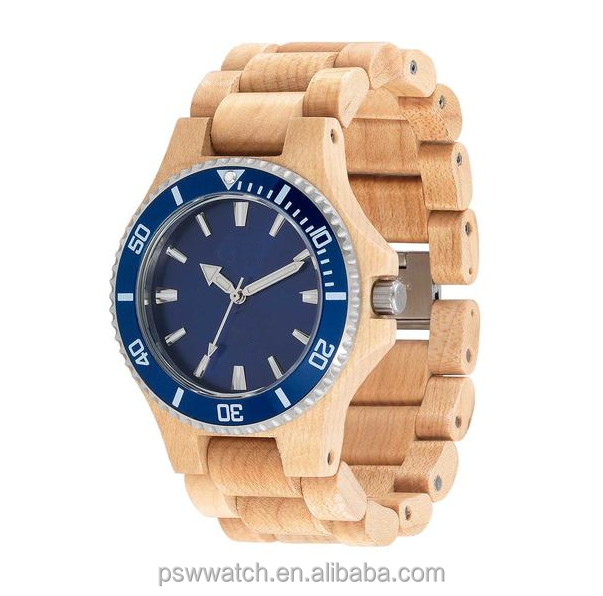 Alibaba china square shape genuine leather wooden wrist watch men women