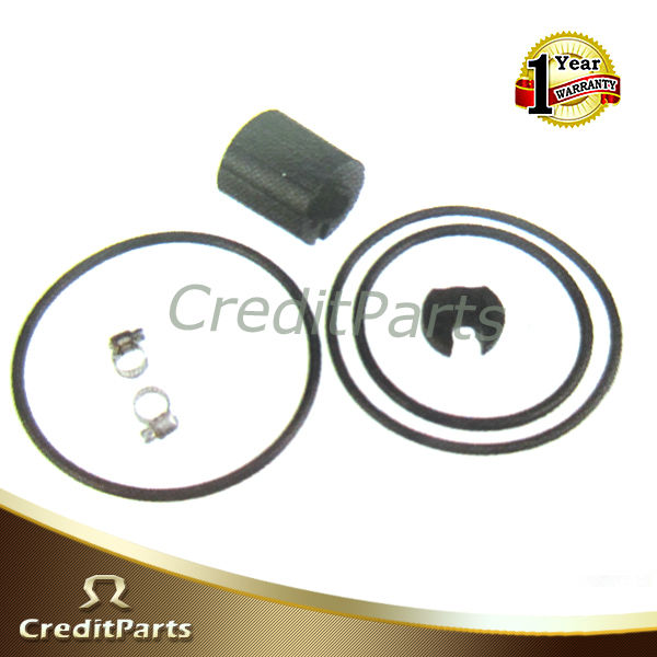 Auto Parts - Fuel Pump Repair Kits - Metal O-ring,Rubber Cap,Connector