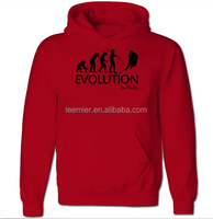 Blank high quality custom printed polar fleece hoodie