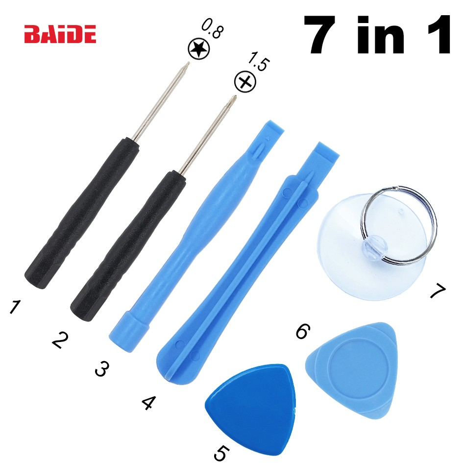 7 in 1 screwdriver mobile maintenance tool <strong>kit</strong> For iPhone Samsung wholesale alibaba 500Set