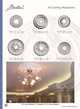 Ceiling Medallions Crown Moulding Good price beautiful new modern Plastic Ceiling Medallions