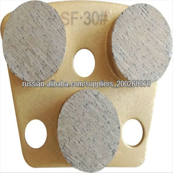 diamond abrasive grinding pad for floor grinder