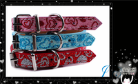 2015 Hot Sale Luxury Dog Collar Pet Collar Ribbon For Wholesale