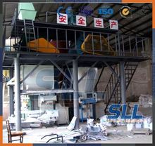 SINCOLA 25t/h skim coat production line, dry powder blending