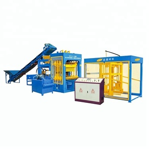 Fully Automatic hydraulic block QT12-15 brick making machine for hollow block