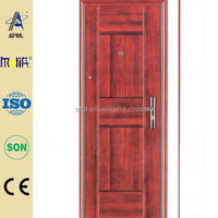 AFOL steel security door pricing hollow core metal door exterior/ interior