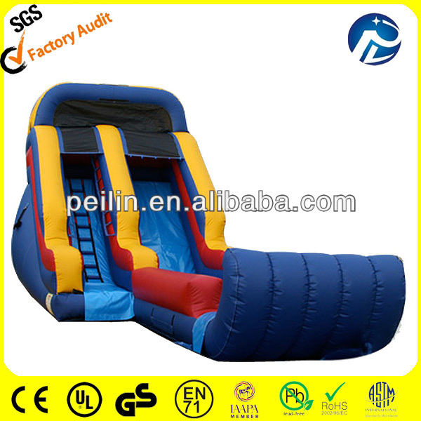 giant inflatable blow up water slides