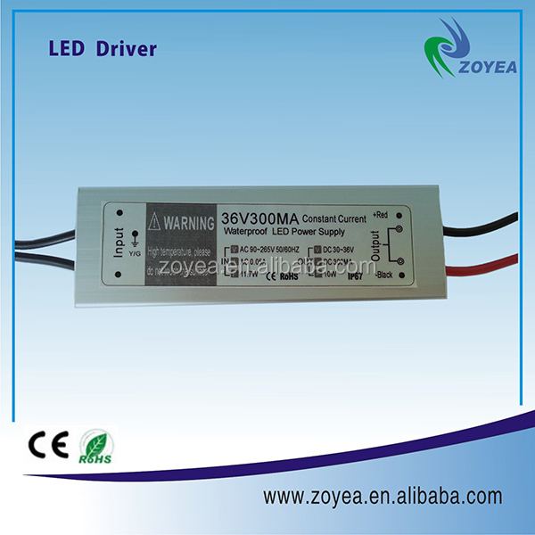 constant current 300ma 500ma 600ma 700ma waterproof driver led with no pulsation for led panel light