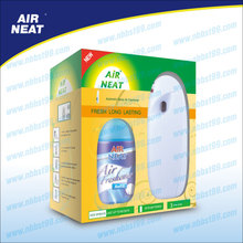Automatic air freshener dispenser with aerosol spray kits
