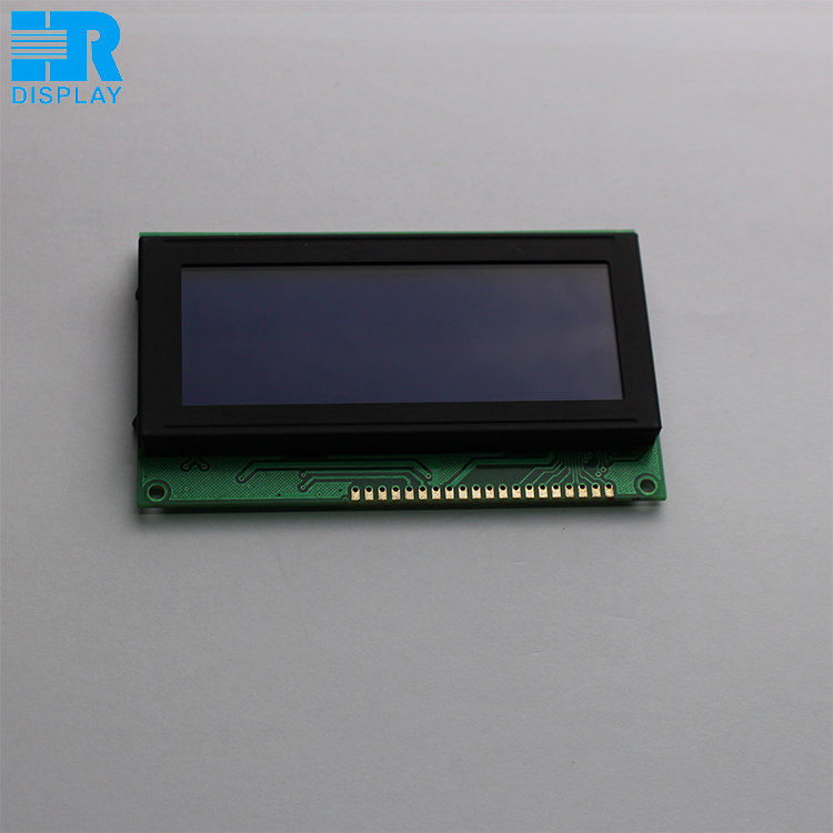 Customised 192x64 dot matrix monochrome lcd module with touch