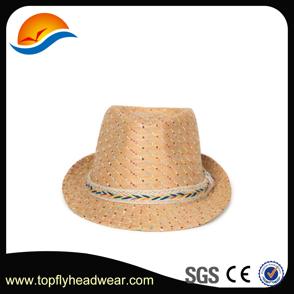 Paper Braid Straw Fedora Hat,Fashion Fedora Straw Hat,Fashion Straw Hat/Cap