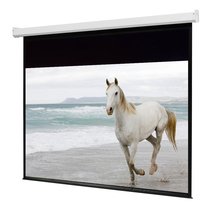 Commercial cinema fast portable projector curtain
