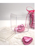 Square Wedding Candy Box Plastic Clear