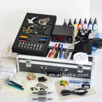 2018 hot sale professional tattoo kits with free shipping