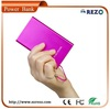 4000 mah credit card style mobile power bank usb power banks