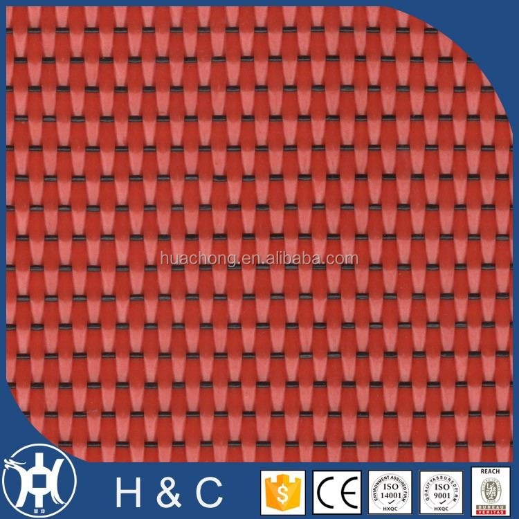 Chinese style Iron Oxide Red waterproof pvc wallpaper