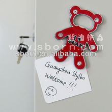 New arrival clear acrylic fridge magnets