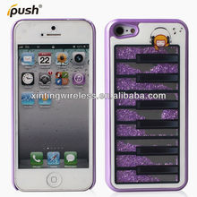 Latest case for iPhone5,OEM diamond bling case for iPhone5