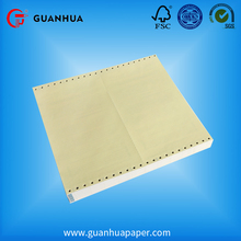 Factory hot sales carbonless paper blank or preprinted computer continuous