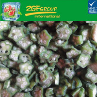 New Crop IQF frozen vegetable okra