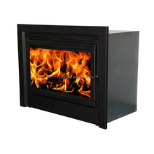 Big power Indoor insert built wood long burning fireplace wm207