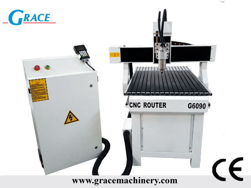 mall advertising cnc router for sign making aluminum mold and wood processing G6090