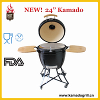 Easily Marketable Products Large Wood Charcoal Table BBQ Barbecue Grill