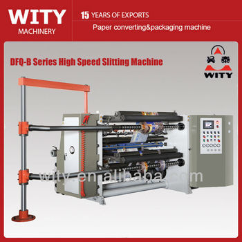 High Speed Slitting Machine (Shaftless Unwinding Type)
