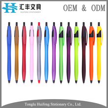 HF5208C High quality factory cheap price bulk parker refill custom printed plastic ballpoint pen with logo