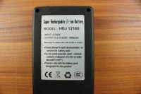 Real 1800 Mah 2A current discharge,li-ion polymer battery charger rechargeable 12v dc battery pack