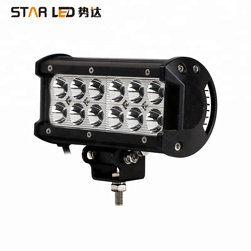 Walmart certified 36W motorcycle led driving lights led light bar for cars