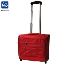 China factory wholesale fashion upright ladies laptop trolley bag