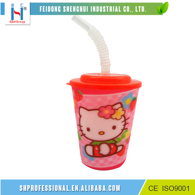 S&H Water Drinking 14oz 3D Cups