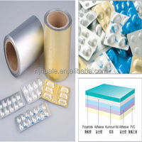 laminated packaging film printed cold formed blister packing pharmaceutical alu alu foil roll