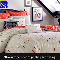 print your own cotton bed sheet bedding set
