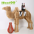 High Quality Wooden DIY Camel Display Table