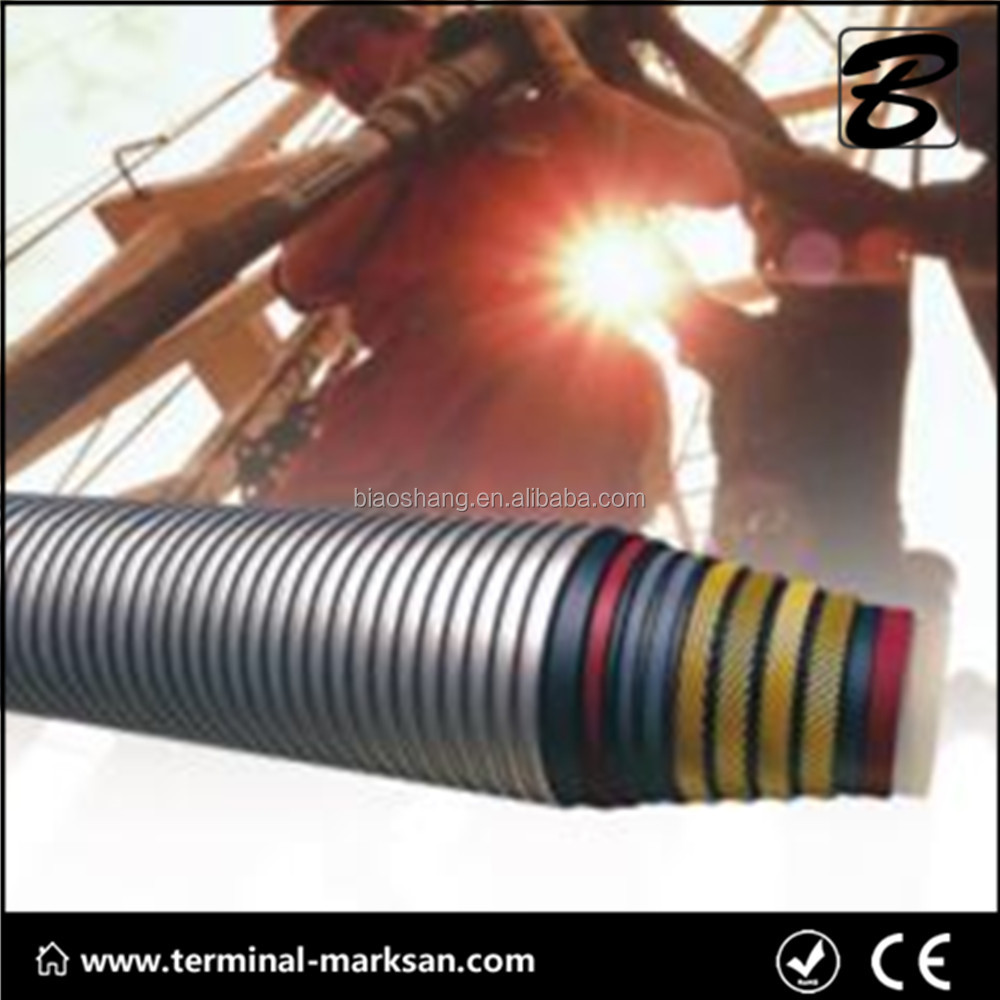 Flexible chock and kill line heat resistant hose