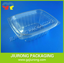 disposable plastic transparent deli container clear food grade salad container