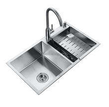 heated kitchen sink