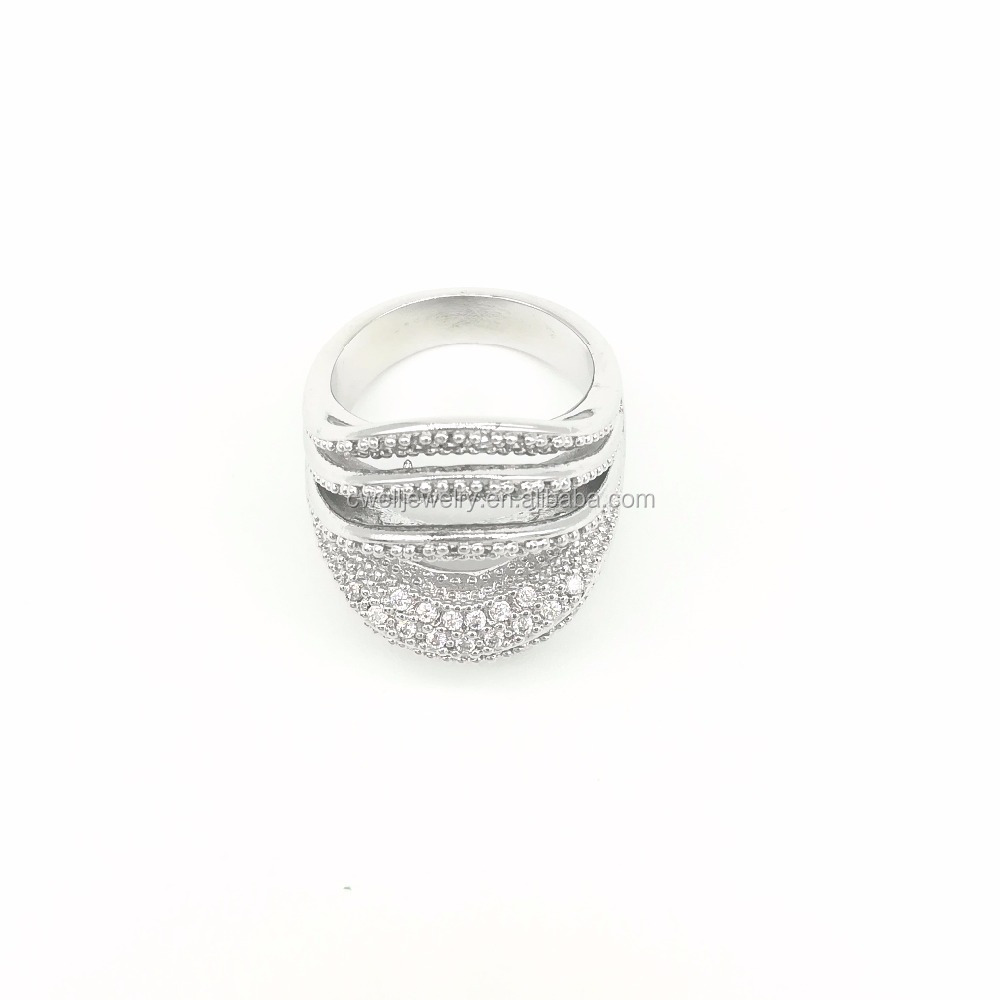 New Design Jewelry Perfect Crystals Fashion Custom Made Ring