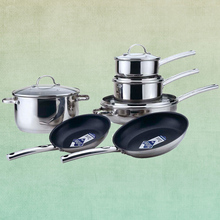 10 pcs chefline cookware set,high quality kitchen ware