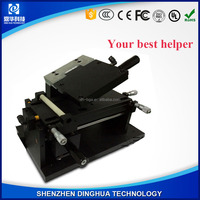 Dinghua LCD polarizer film laminator machine for rolling the film on the phone surface