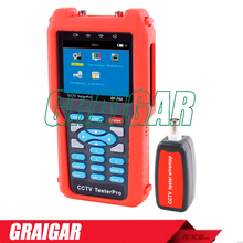 NF-702 CCTV Tester Multimeter 3.5 LCD 960*240 Resolution Video Level testing Audio input and PTZ continuing rotate test