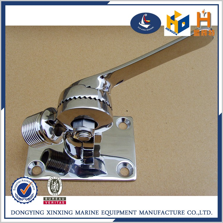 Cheap price stainless steel marine hardware stanchion base