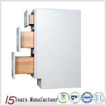 China Professional American Standard White Shaker Kitchen Cabinet Design